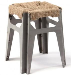 sedut COD (Crafts Oriented Design) le sedie di Rami Tareef fatte di motivi geometrici in corda