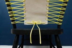 seduta fai da te bustino per restyling sedia vedi tutorial