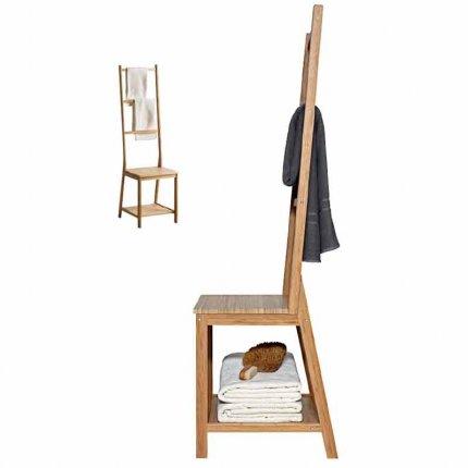 bagno sedia con portasciugamani di ikea RÅGRUND