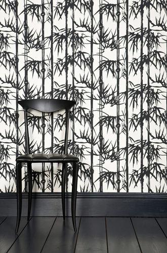 carta-parati-motivi-floreali bamboo farrow & ball