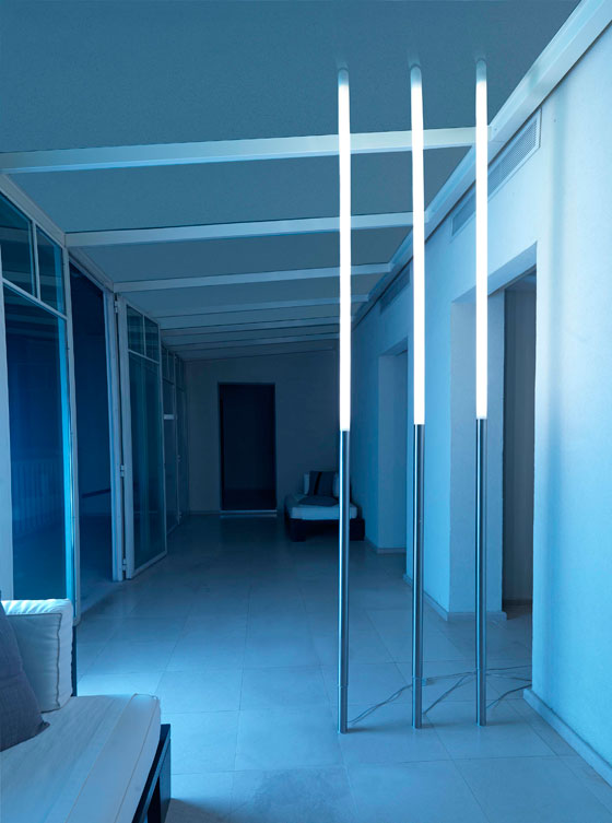 design 'Lamp Bamboo' di Roberto Giacomucci per Euroluce 2009