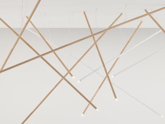 design Luci 'Non Bamboo' di GamFratesi 2009