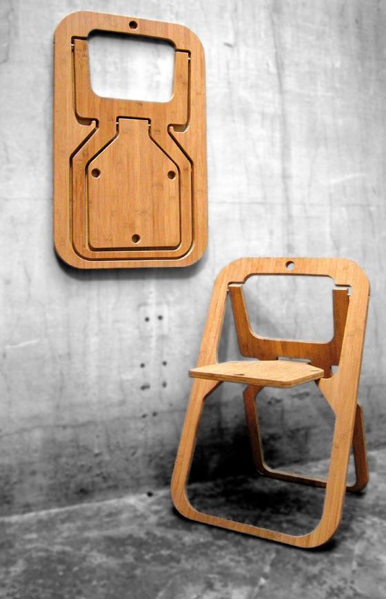 design Sedia 'Desile' di Christian Desile per Vange 2009