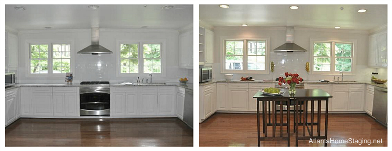 Buckhead-Home-Staging-Kitchen-Before-and-After-Picture