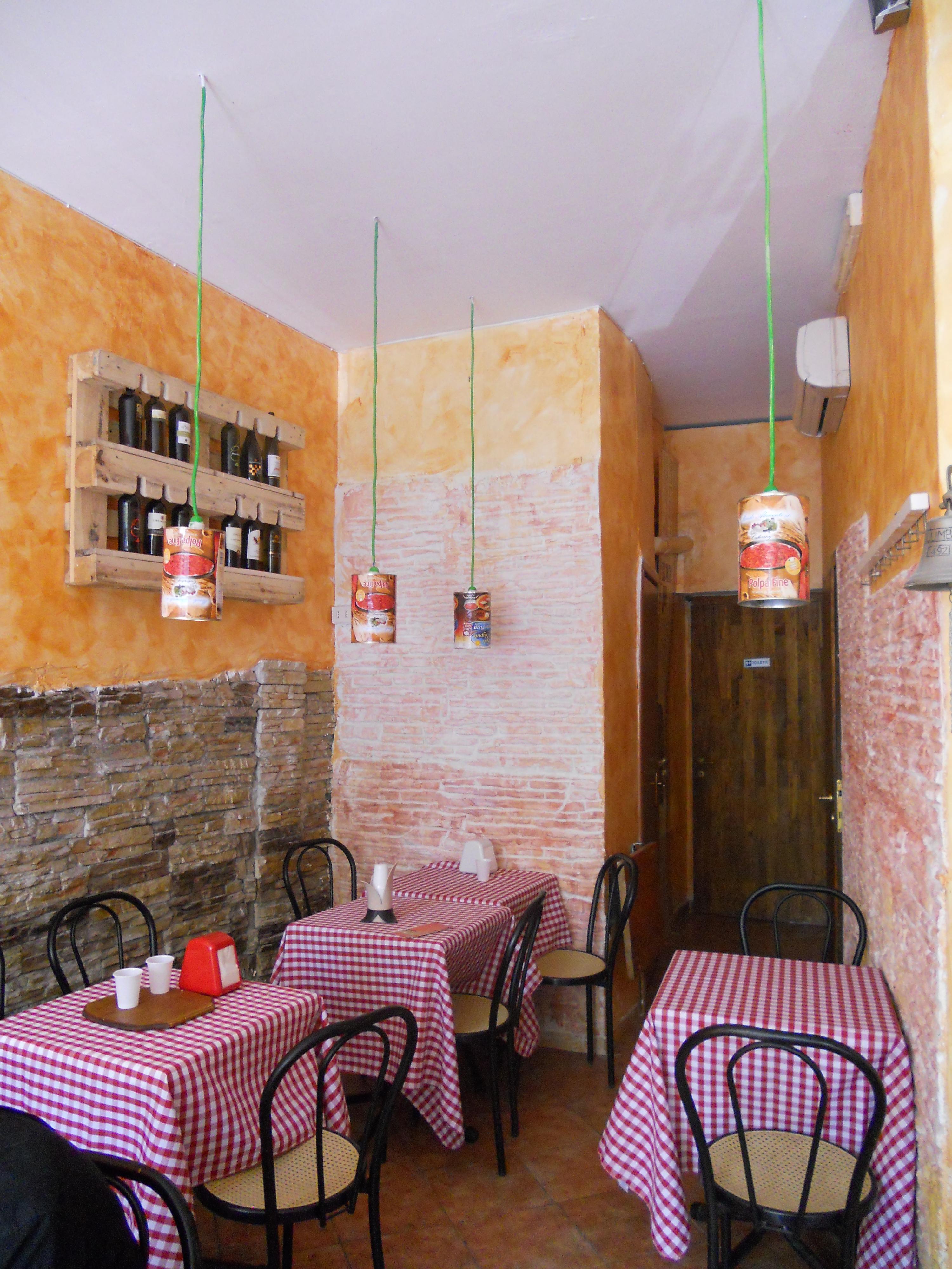 Illuminazione archivi architettura e design a roma for Arredare pizzeria