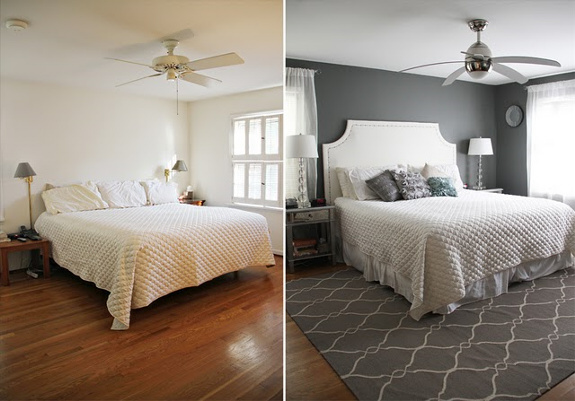 Master Bedroom Before and After Long Distance Interior Design Online 1
