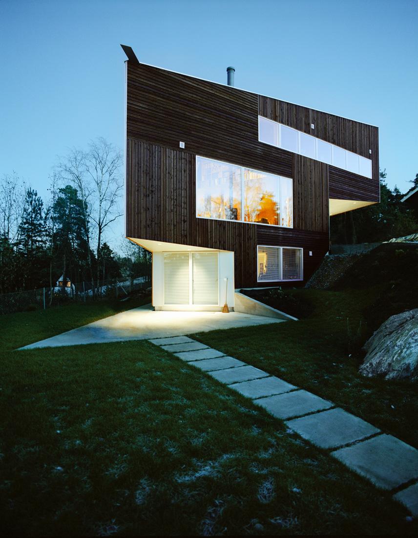 arch, casa-triangulo Architetti Jarmund Vigsnæs AS Architetti MNAL 2