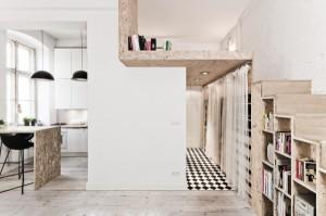 arch, splendido appartamento di 3XA architetti 29mq 1