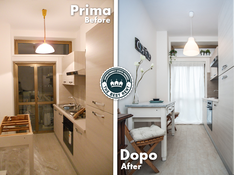 Home staging - Piccola cucina milano ...
