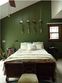 I colori e le forme dell 39 autunno per l 39 arredamento Brown and green master bedroom ideas
