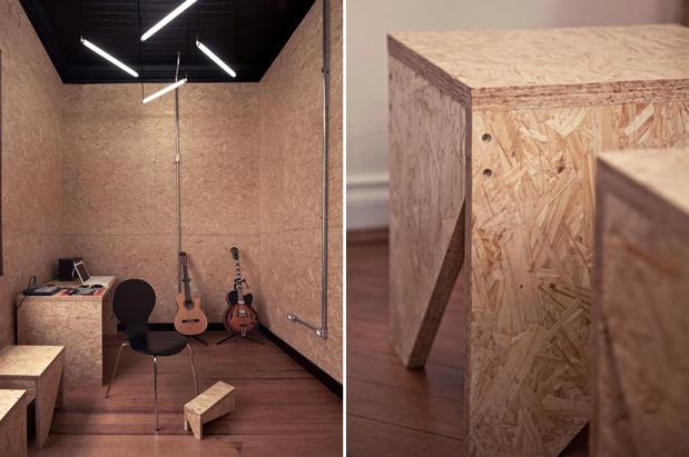 pubb 0E1 Arquitetos architetti creano un ambiente caldo in un centro di musica brasiliana