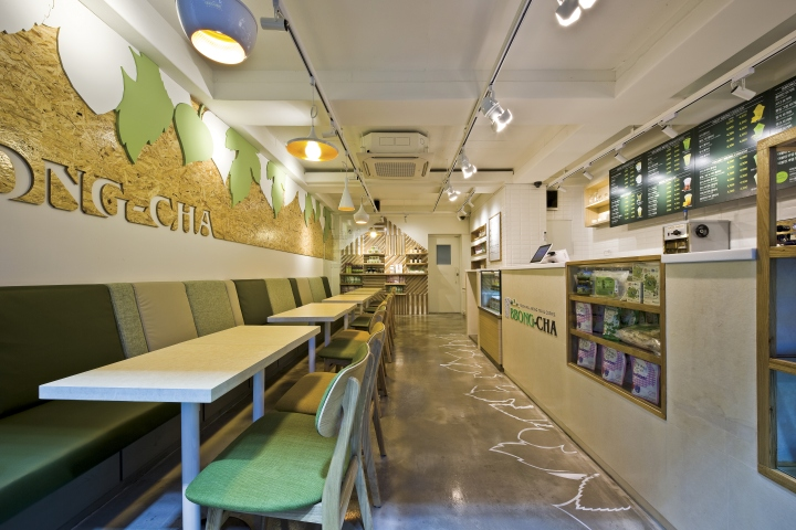 pubb Cafe-BBong-Cha-by-Friends-Design-Seoul-Korea Bbong-Cha' means the mulberry leaf tea in Korea