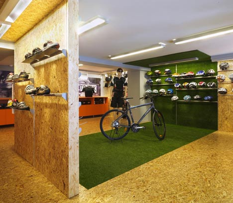 pubb Cyclist shop by React Architects