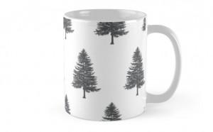 mug pine trees redbubble.com2