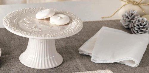 alzatina .amazon L' Oca Nera Alzatina in ceramica collezione emozioni in rilievo nonna