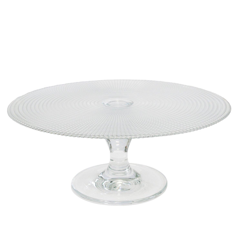 alzatina .amazon di Axentia 845146 – Alzatina per torte, in vetro, ø 28 cm