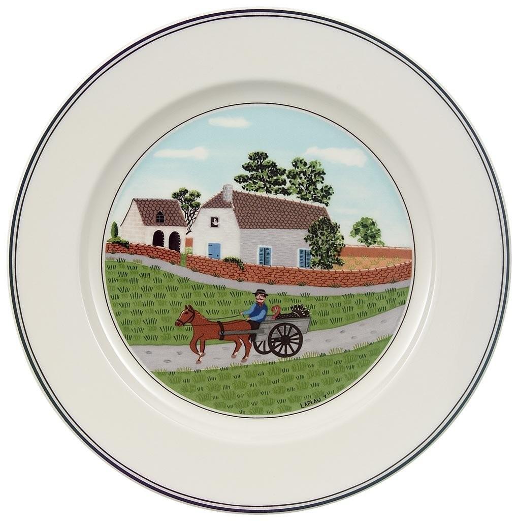 .amazon Villeroy & Boch Design Naif Piatto per la colazione Contadino 21 cm
