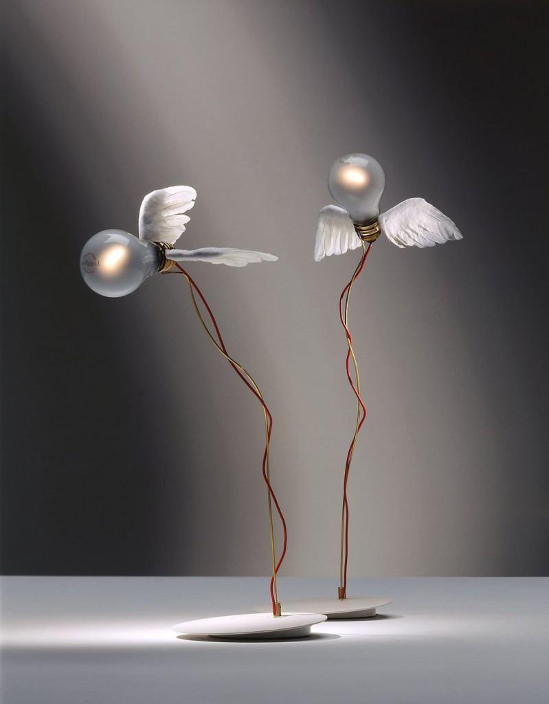 design .amazon complementi ingo maurer lampada luccellino