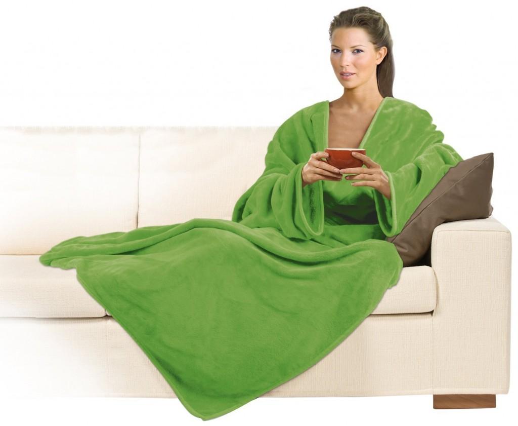 relax coperta con le mancihe