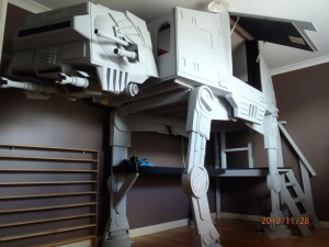 AT-AT Walker letto a castello