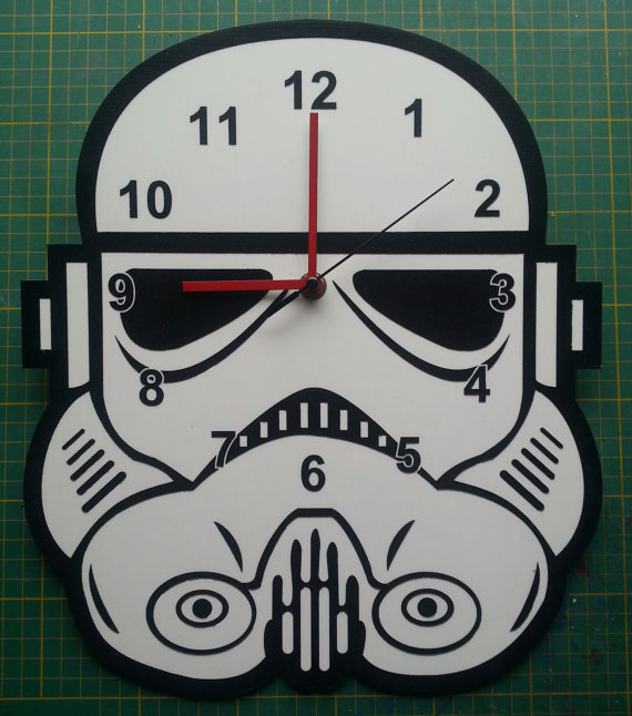 BIG STAR WARS DI STORMTROOPER HEAD CLOCK TheobaldGraphics51.58€
