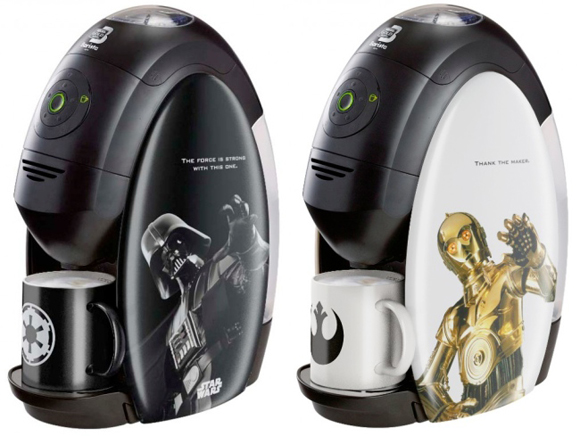 The Nestle Star Wars Coffee Machines