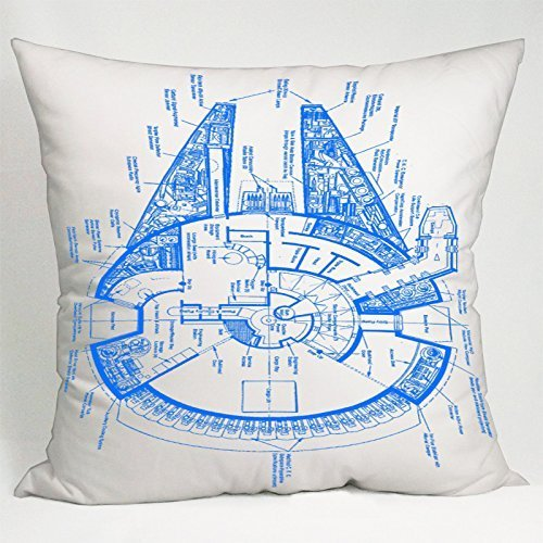.amazon Amy Like Pillowcases Star Wars Millennium Falcon Pillow Case