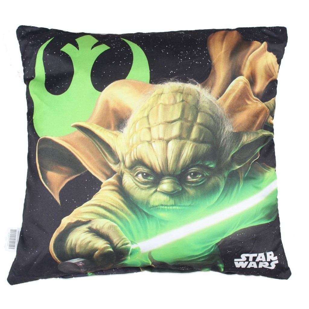 .amazon Star Wars Cuscino Ragazzo Maitre Yoda 40 x 40 cm