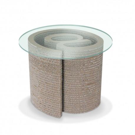 chiocciola tavolo-da-fumo-chiocciola-at-in-cartone-ondulato-ad-alta-resistenza 138€ di kasa store