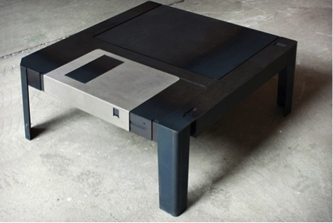 computer tavolino floppydisk