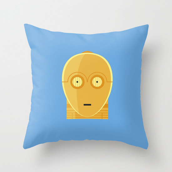cuscino C-3PO su society6.com2