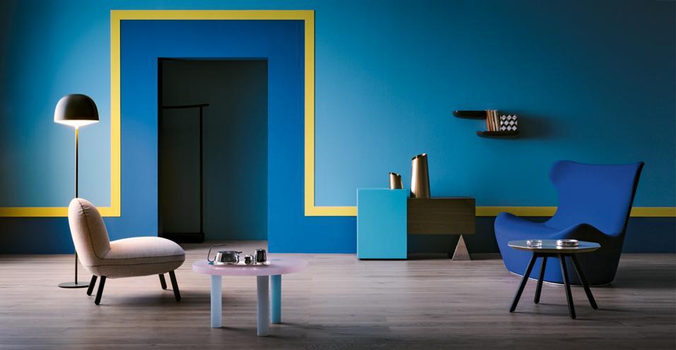 Pareti Interne Colorate : Di che colore dipingere le pareti versione architettura e