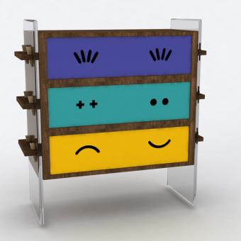 emoticon arredi mobili faccine baita design