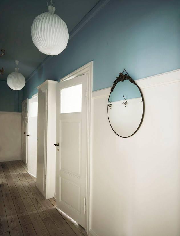 fascione soffitto colore soffitto e metà parete