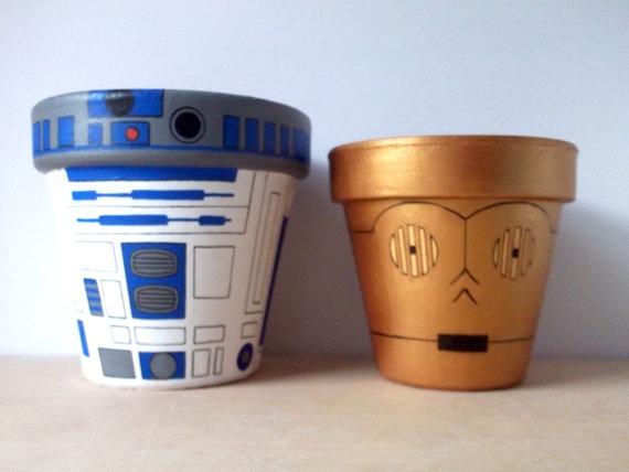 guerre stellari vasi C3PO R2-D2