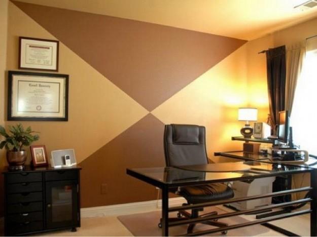 originale ufficio-con-parete-beidge-e-marrone