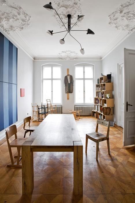 Dipingere Una Parete A Righe: Decorare con le righe architettura e ...