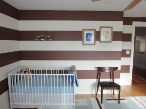righe orizzontali not-your-average-nursery-color