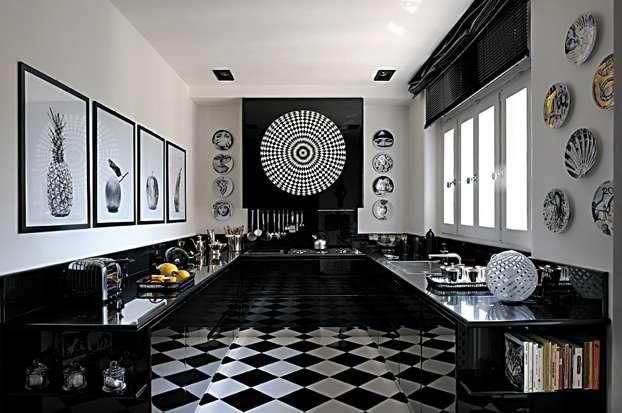 arredare in grande stile con il bianco e il nero - architettura e ... - Arredare In Bianco E Nero