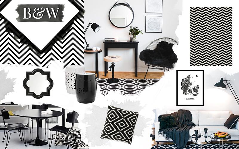 Divani Bianchi E Neri : Arredare in grande stile con il bianco e il nero architettura e