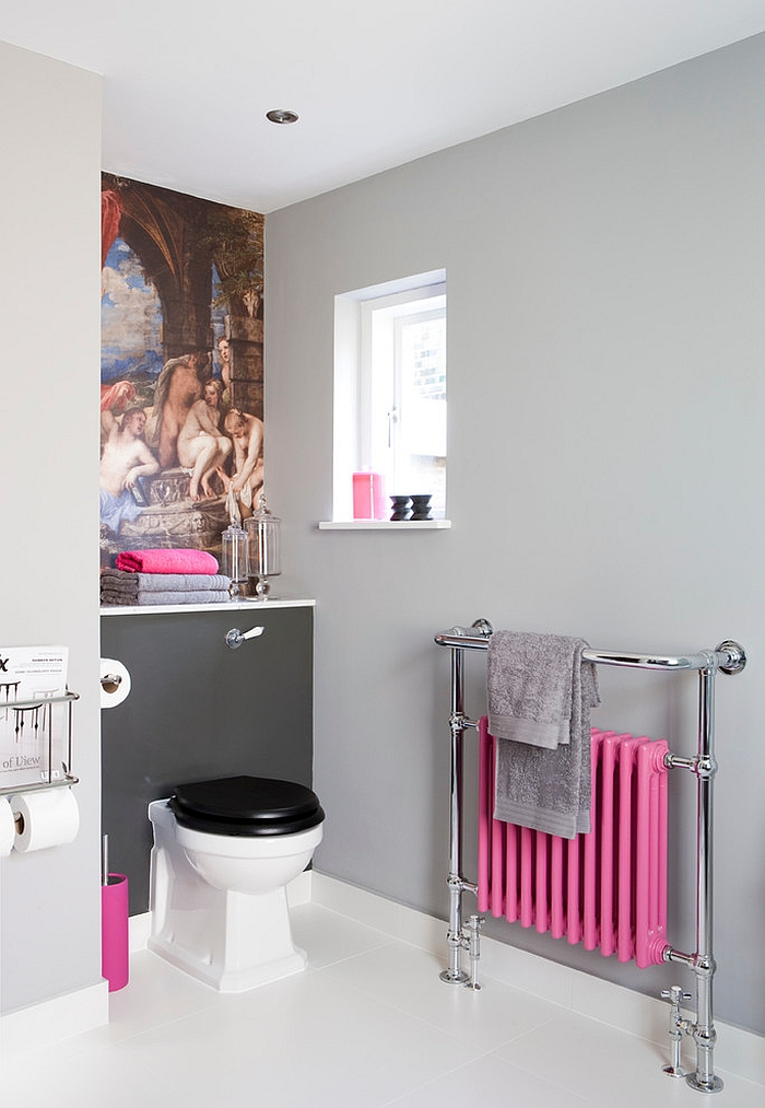 Feminine-bathroom-with-a-restrained-pop-of-pink