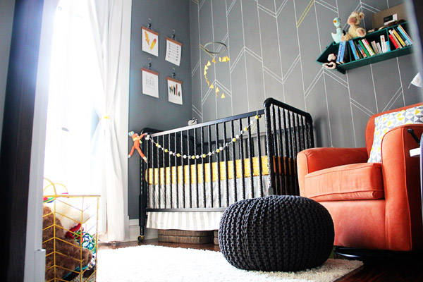 acchiappasogni colori neutri Giallo & Gray Arrow Baby Boy Nursery