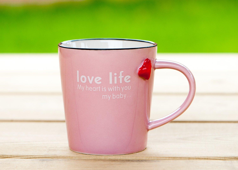 .amaon tazza rosa vari colori