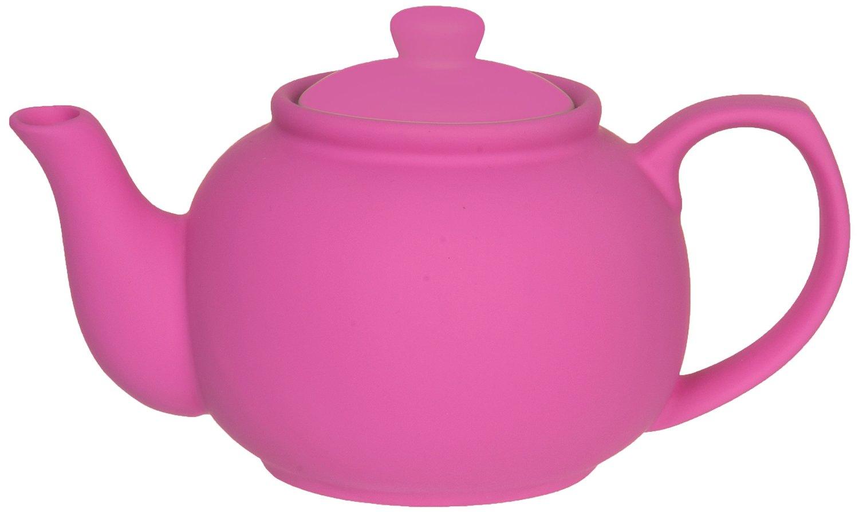 .amazon infusore rosa teiera ceramica rosa neon di Present Time