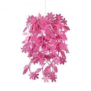 .amazon lampada rosa di minisun con cascata fiori