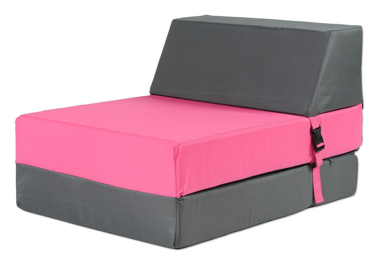 .amazon poltrona rosa trasformabile in letto