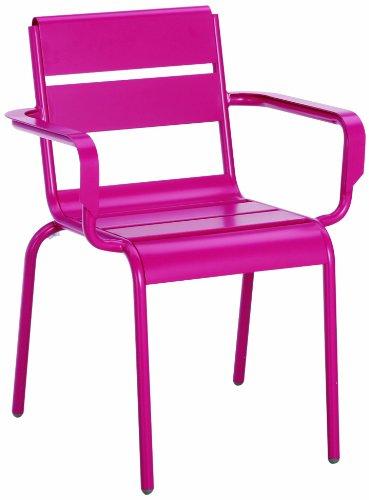 .amazon sedia da giardino rosa
