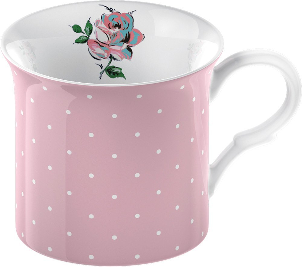 .amazon tazza rosa in porcellana, stile shabby chic