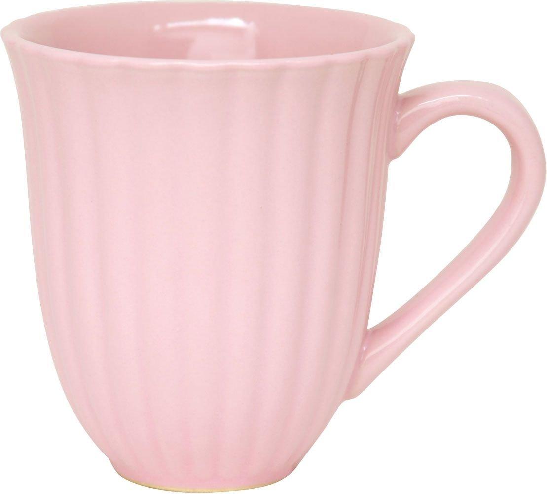 .amazon tazza rosa stile english  con manico in ceramica scanalataby  IB Laursen