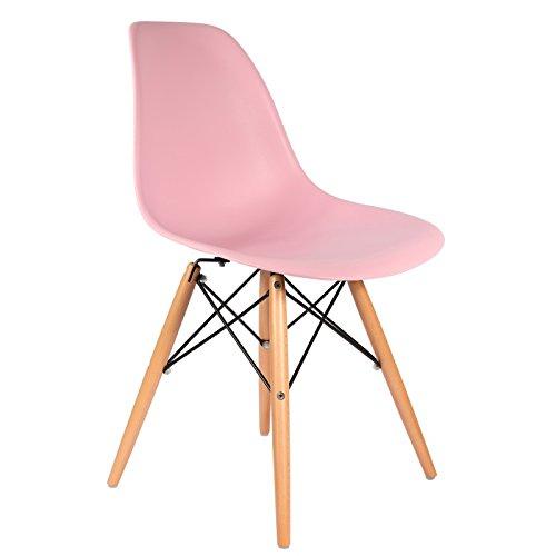 .amazopn sedia eames rosa